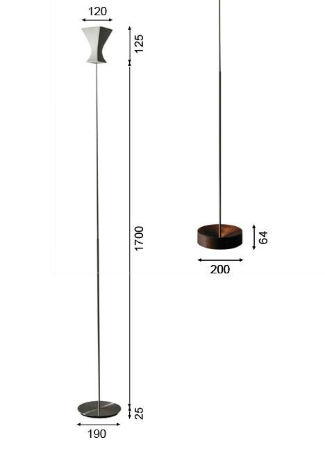 K-meral Sofi Stehleuchte Grafik