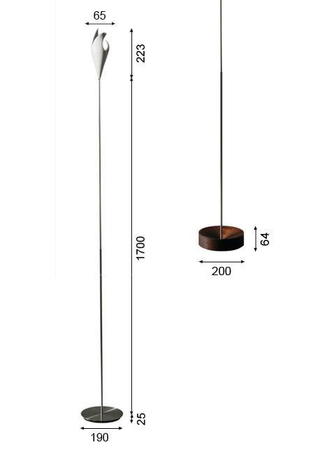 K-meral TRIS Stehleuchte Grafik