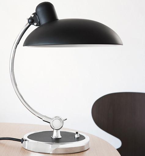Kaiser Idell 6631 Luxus Tischleuchte schwarz matt