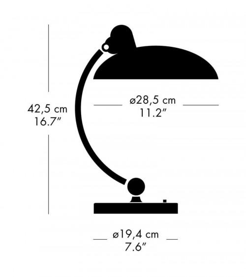 Kaiser Idell 6631 Luxus Tischleuchte Grafik