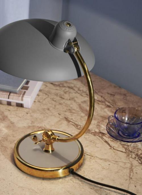 Kaiser Idell 6631 Luxus Tischleuchte grau