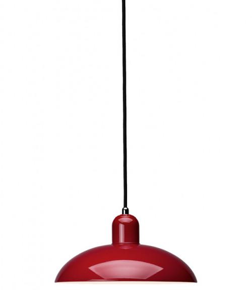 Kaiser Idell 6631-P Pendelleuchte rot