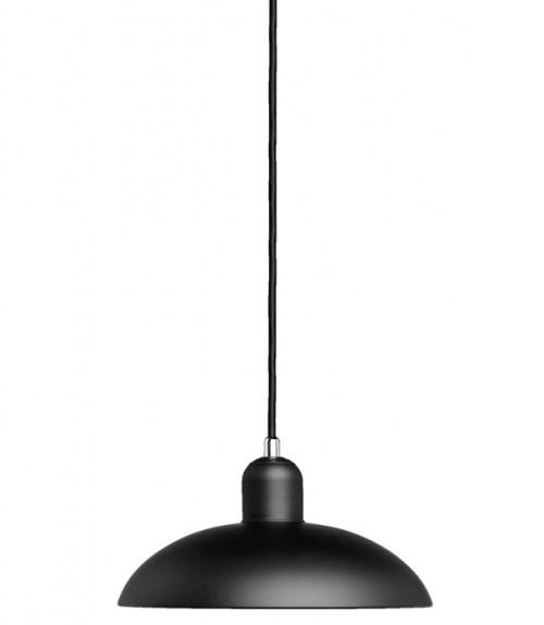 Kaiser Idell 6631-P Pendelleuchte schwarz matt