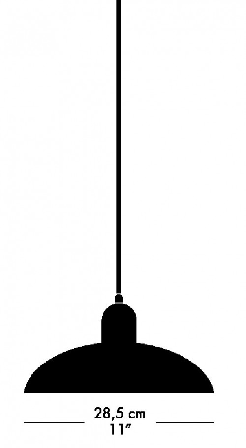 Kaiser Idell 6631-P Pendelleuchte Grafik
