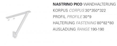 Byok Nastrino Pico Wandleuchte Grafik