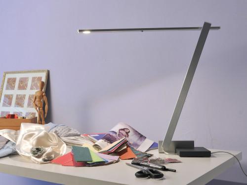 Byok Nastrino Tischfuß Aluminium matt