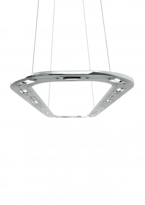Byok Piani Lungo 140 Downlight Aluminium poliert