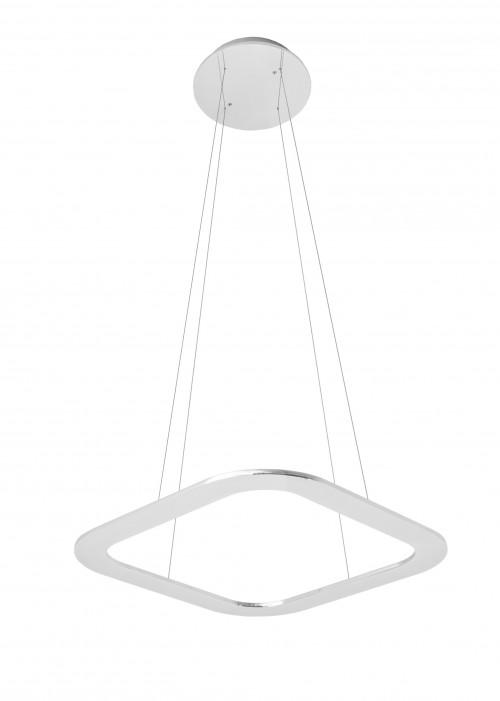Byok Piani Quadro 48 Uplight Aluminium poliert
