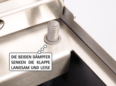 Keilbach - Briefkasten Glasnost Glas Klassik Dämpfung