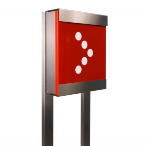 Keilbach - Briefkasten Glasnost  mit Stativ