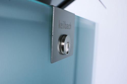 Keilbach - Briefkasten Glasnost Glas Klassik Detail