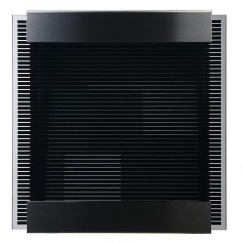 Keilbach - Briefkasten Glasnost bedrucktes Glas Ausführung black strips