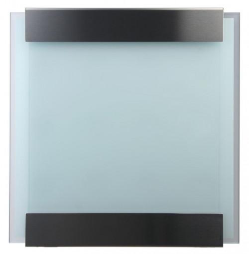 Keilbach - Briefkasten Glasnost bedrucktes Glas Ausführung white