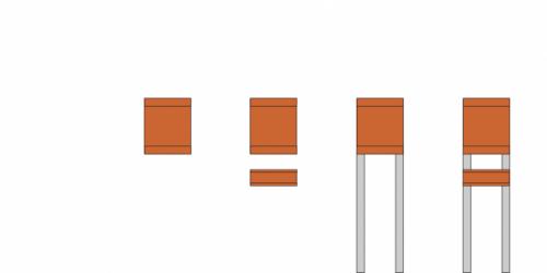 Keilbach - Zeitungsbox Glasnost iron Kombinationsmöglichkeiten