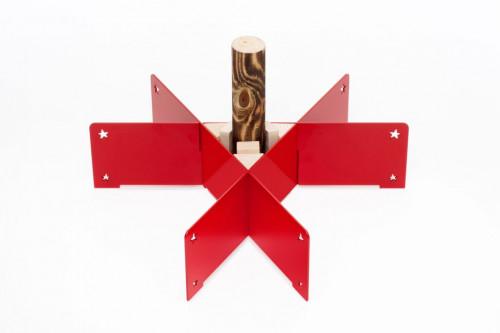 Keilbach - Weihnachtsbaumständer Halleluja rot
