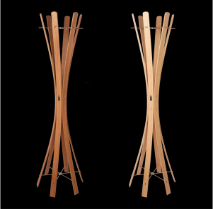Keilbach - Naomi Grande Eiche links, Esche rechts