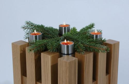 Keilbach - Hocker Sixteen mit Teelichthalter Candle