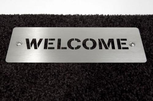 Keilbach - Schuhabstreifer Welcome