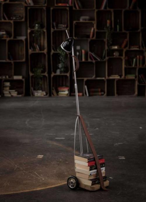Less'n'more Jules Verne Akkuleuchte JU-Y Leuchtenkopf schwarz glänzend