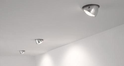 Less'n'more Mimix Beton Einbaustrahler mit Montageblech für rahmenlosen Einbau in Hohlraumwand