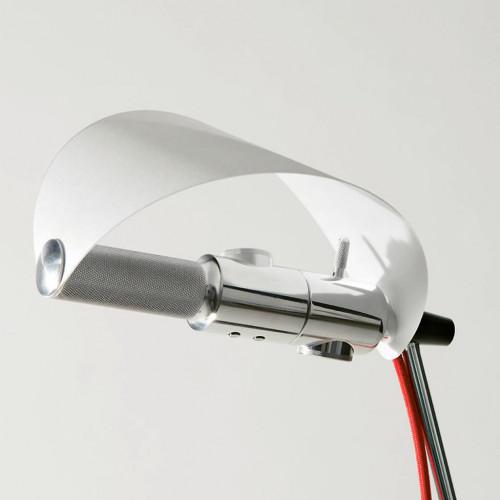 Less'n'more Stereo-SL Leuchtenköpfe Aluminium mit Lichtsegel