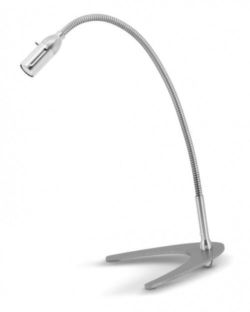 Less'n'more Zeus Tischleuchte Z-TL Aluminium, flexibler Arm Aluminium