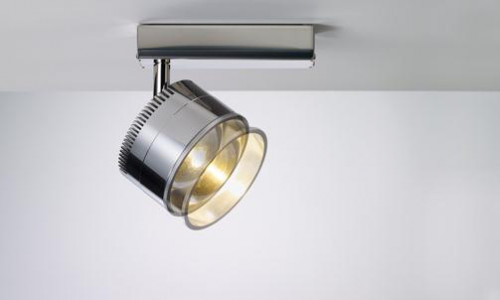 Licht im Raum Ocular Spot 1 Serie 100 Zoom poliert