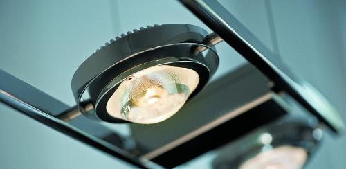 Licht im Raum Ocular 6 LED schwenkbare Linse