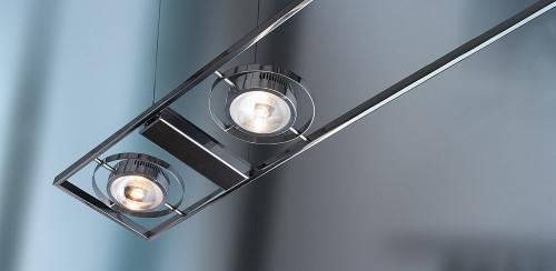 Licht im Raum Ocular 6 LED Serie 100 Edelstahl handpoliert