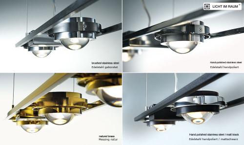 Licht im Raum Ocular 4 LED lang Oberflächen