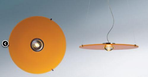 Licht im Raum Solo Super Orange