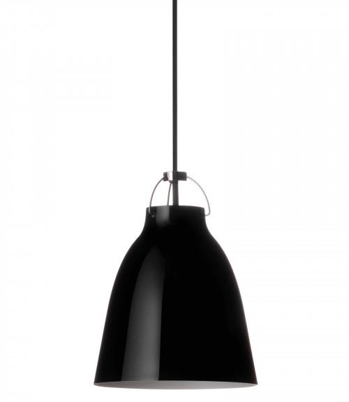 Lightyears Caravaggio P1 schwarz glänzend mit schwarzem Kabel