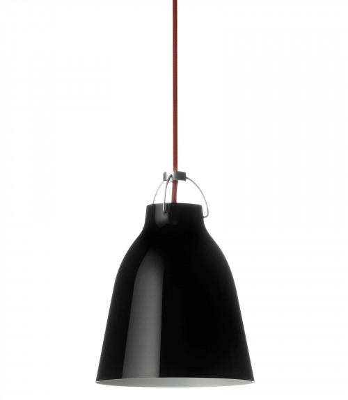 Lightyears Caravaggio P1 schwarz glänzend mit rotem Kabel