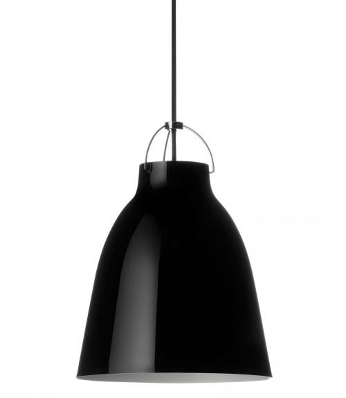 Lightyears Caravaggio P2 schwarz glänzend mit schwarzem Kabel