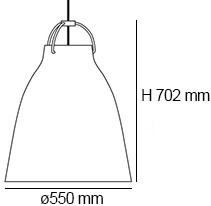 Lightyears Caravaggio P4 E27 Zubehör