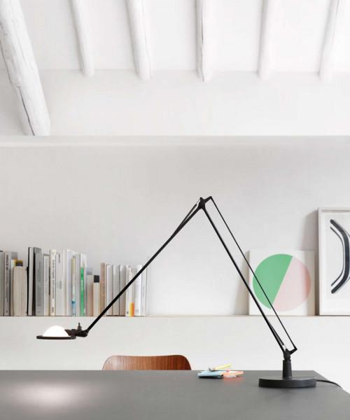 Luceplan Berenice Tavolo Piccola schwarz Reflektor weiß