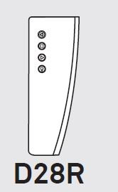 Luceplan Blow Fernbedienung
