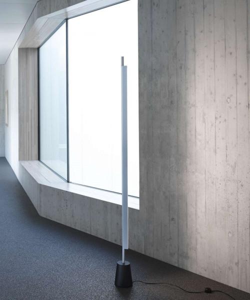 Luceplan Compendium Stehleuchte Aluminium