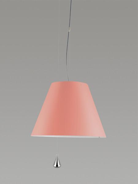 Luceplan Costanza Pendelleuchte Gegengewicht pink