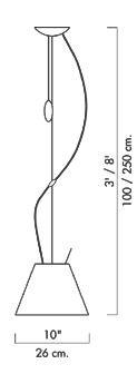 Luceplan Costanzina Pendelleuchte Grafik
