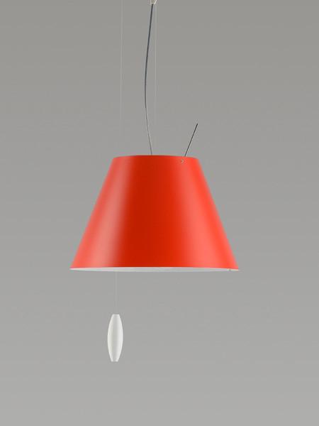 Luceplan Costanzina Pendelleuchte rot