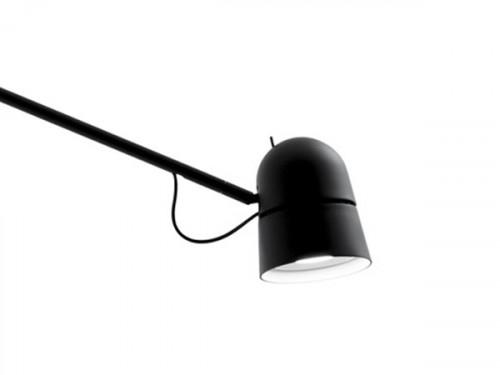 Luceplan Counterbalance Leuchtenkopf schwarz