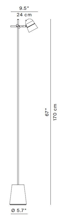 Luceplan Counterbalance Floor graphic
