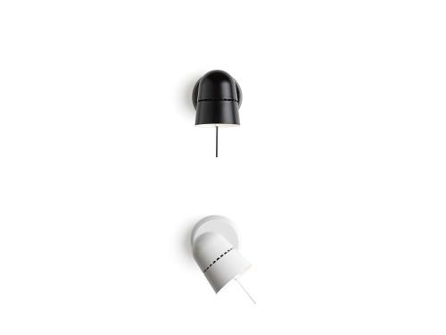 Luceplan Counterbalance Spot schwarz und weiß
