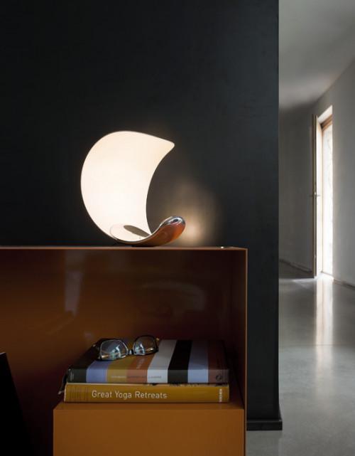 Luceplan Curl mit Spiegel Reflektor