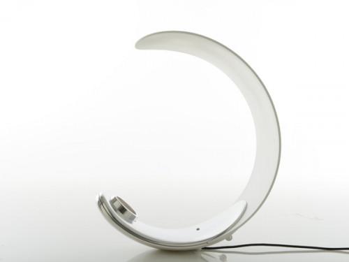 Luceplan Curl mit weißem Reflektor