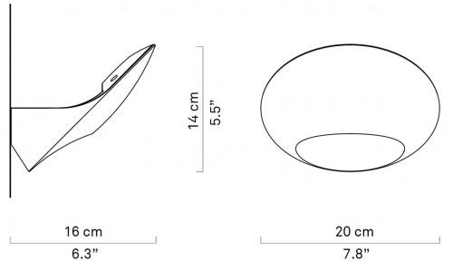 Luceplan Garbí Grafik