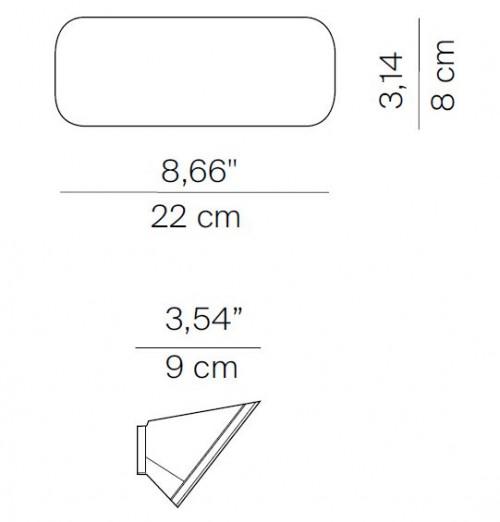 Luceplan Lane D64 Grafik