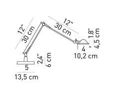 Luceplan Berenice Tavolo Piccola Grafik
