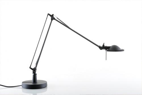 Luceplan Berenice Tavolo Piccola schwarz Reflektor schwarz